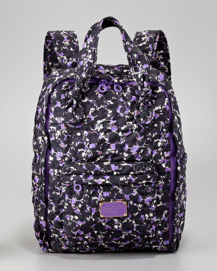 Marc by Marc Jacobs Pretty Nylon Exeter Printed Backpack