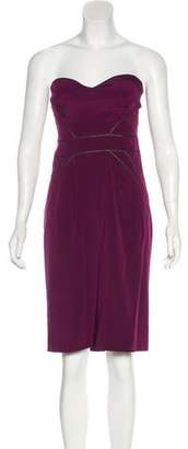 Zac Posen Silk Bustier Dress