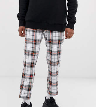 Reclaimed Vintage checked casual pants