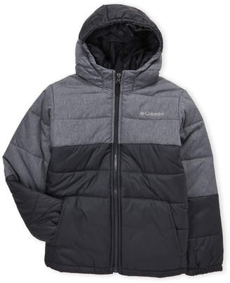 Columbia Boys 8-20) Color Block Hooded Puffer Coat