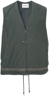 Monkey Time Loose Fit Zipped Vest