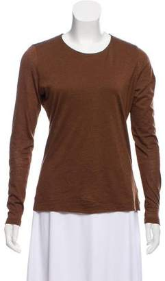 Akris Long Sleeve Cashmere Top