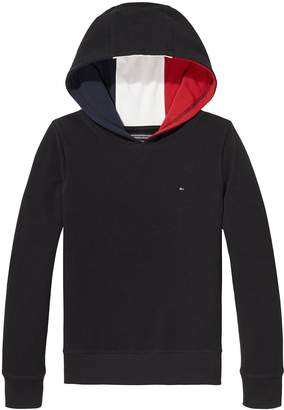 Tommy Hilfiger Boys Pique Panel Hoody