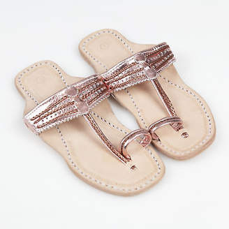 NEW Handmade leather sandals in Rose Gold Women's by Banjarans Leather Sandals