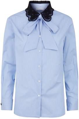 Sandro Lace Collar Shirt