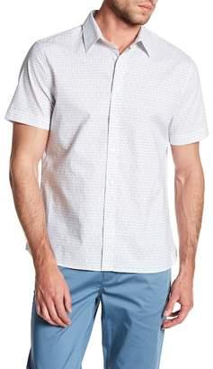 Perry Ellis Short Sleeve Regular Fit Shirt