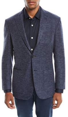 Kiton Men's Tic Cashmere Two-Button Jacket