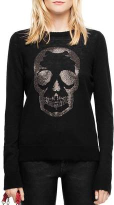 Zadig & Voltaire Miss Bis Embellished Cashmere Sweater