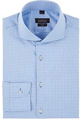 Barneys New York Men's Gingham Cotton Poplin Shirt
