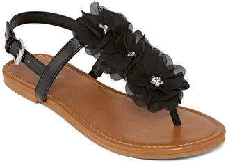 Arizona Womens Axton Adjustable Strap Flat Sandals