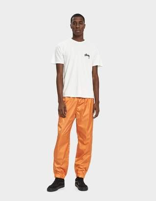 Stussy Micro Ripstop Pant in Orange
