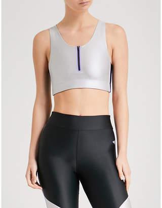 LAAIN Nicole stretch-jersey sports bra
