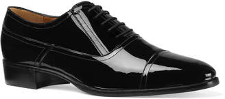 Gucci Men's Patent Leather Lace-Up Shoes