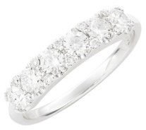 Women's Bony Levy Diamond Cluster Ring $3,750 thestylecure.com