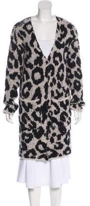 Amiri Wool Knit Cardigan