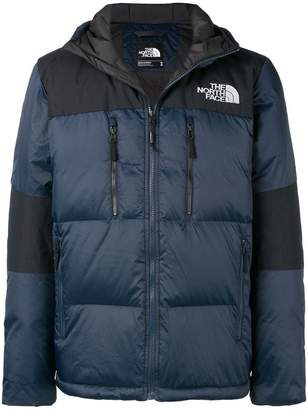 The North Face two-tone puffer jacket