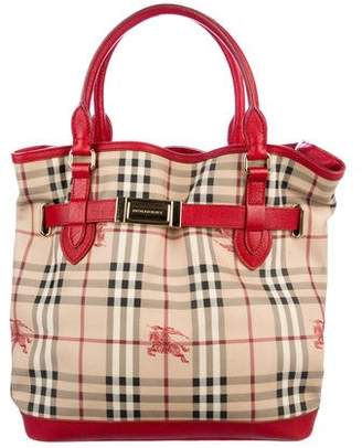 Burberry Haymarket Check Golderton Bag