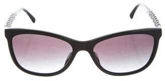 Chanel CC Chain-Link Sunglasses