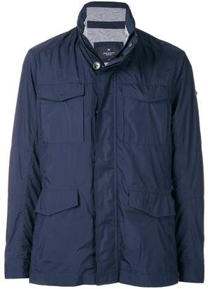 Hackett zipped fitted jacket