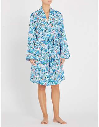 Derek Rose Ledbury cotton kimono