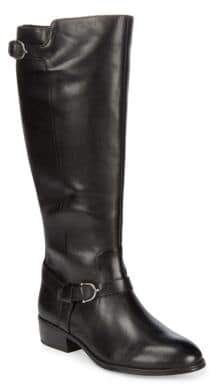 Lauren Ralph Lauren Margarite Wide Calf Leather Boots