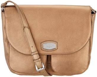 Tignanello Pebble Leather Large Crossbody Handbag