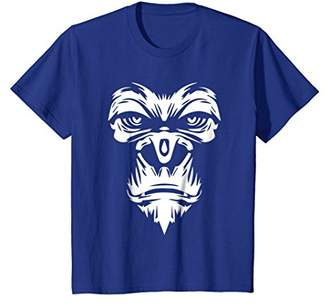 Cool Graphic Design Angry Monkey Face T-shirt