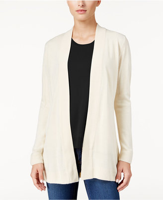 Karen Scott Luxsoft Open-Front Cardigan, Only at Macy's $49.50 thestylecure.com