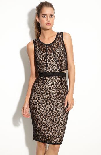 MARC BY MARC JACOBS 'Dahlia' Lace Cutout Dress