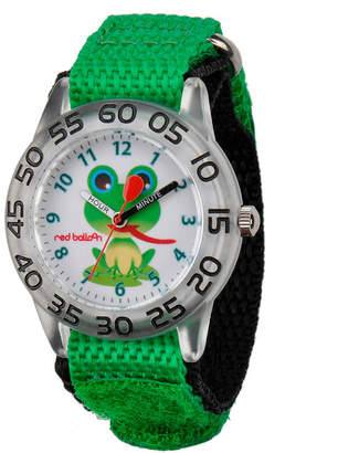 RED BALLOON Red Balloon Boys Green Frog Bracelet Watch