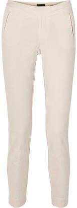 ATM Anthony Thomas Melillo Stretch-cotton Corduroy Slim-leg Pants - Cream
