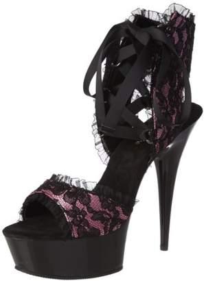 Pleaser USA Women's Delight-600-15L FSSA Ankle Boot
