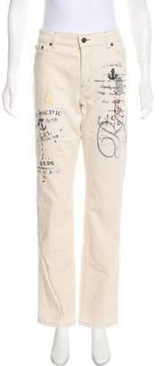 Lauren Ralph Lauren Mid-Rise Straight-Leg Jeans