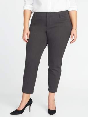 Old Navy Mid-Rise Plus-Size Secret-Slim Pixie Pants