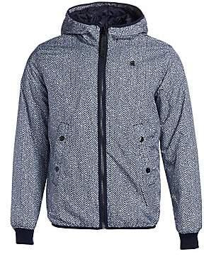 G Star Men's Whistler Herringbone Hooded Jacket