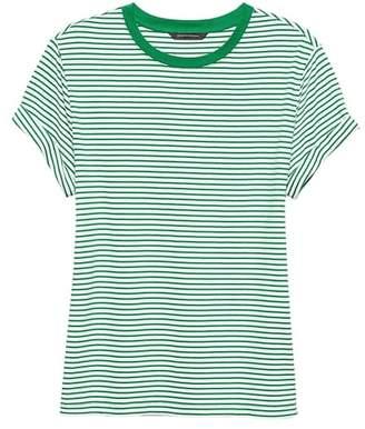 Banana Republic SUPIMA® Cotton Stripe Boyfriend T-Shirt