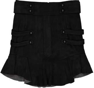 Isabel Marant Black Suede Skirts
