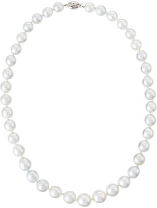 """Belpearl 18"""" 12-9mm Baroque South Sea Pearl Necklace"""