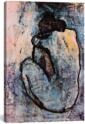 iCanvas 'Blue Nude - Pablo Picasso' Giclee Print Canvas Art