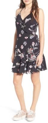 Women's Love, Fire Ruffle Faux Wrap Dress $45 thestylecure.com