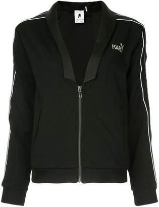 Puma side logo stripe sports jacket
