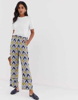 Vila printed trouser