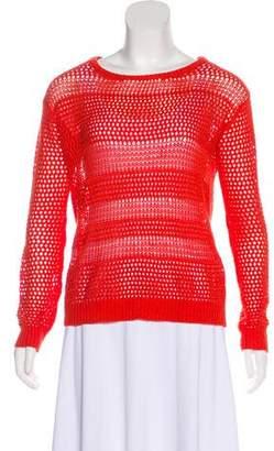 Joie Linen Open Knit Sweater