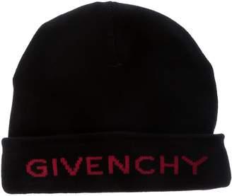 Givenchy Logo Intarsia Knit Beanie