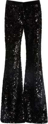 Alexis Benny Sequin Wide Leg Pants