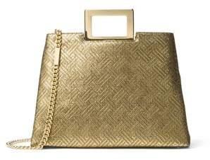 MICHAEL Michael Kors Kristen Large Top Handle Leather Satchel