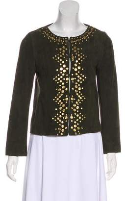 Tory Burch Embellished Casual Jacket
