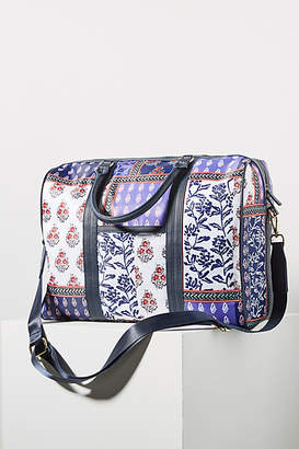 f2e755d87496 Anthropologie Gwendolyn Structured Weekender Bag