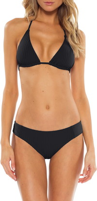 Becca Loreto Rib Triangle Bikini Top