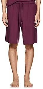 Derek Rose Men's Stretch-Jersey Shorts - Wine